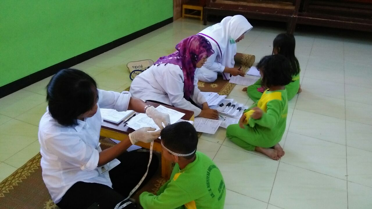 PROGRAM INTEGRASI SDIDTK, UKGS DAN SCREENING ANAK DI TK ABA SENOWO
