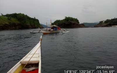 Dive for reef assessment in Nasugbu