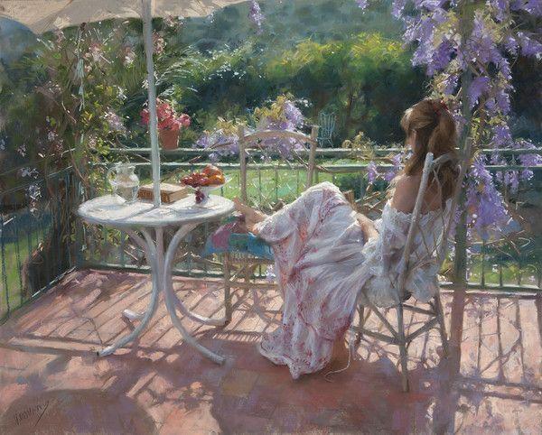 12-Beaux tableaux de Vicente Romero Redondo