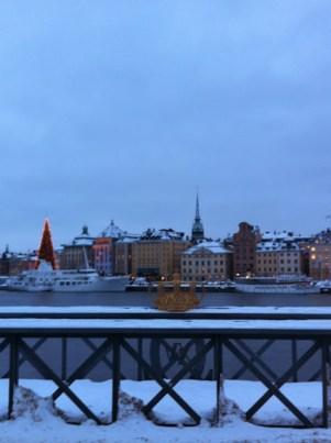 Stockholm' e kış aylarında giderseniz erken kararan havayı unutmuayınızz