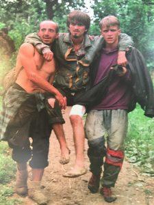 Srebrenitsa'da kaçmaya çalışan Boşnaklar