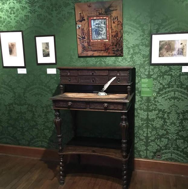 Victor Hugo' nun yazı masası