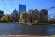 Vue sur BackBay depuis Boston Common