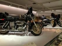 Les modèles plus récents d'Harley