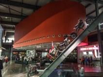 A l'intérieur du musée Harley Davidson