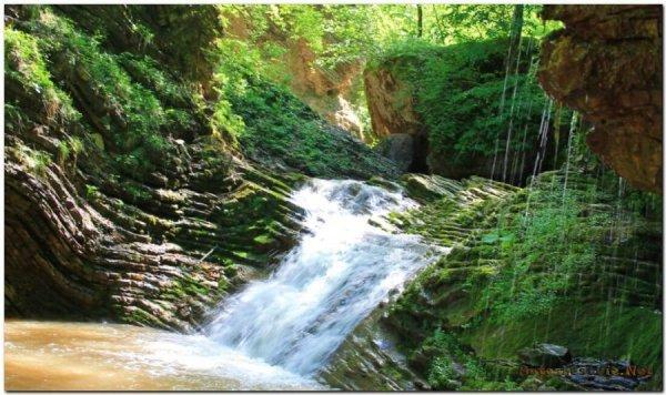 Водопады ручья Руфабго: где находится и как добраться ...