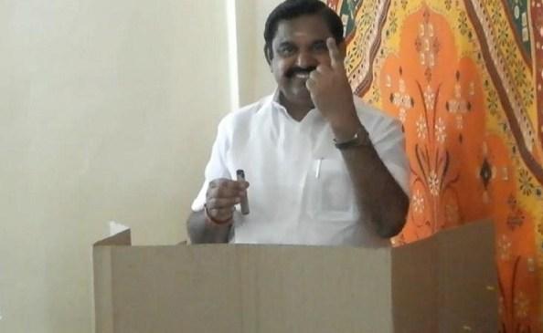 மக்களவையில் 'வாஷ் அவுட்'; உள்ளாட்சி தேர்தலில் 'நாட் அவுட்' எடப்பாடி! சறுக்கிய திமுக!!