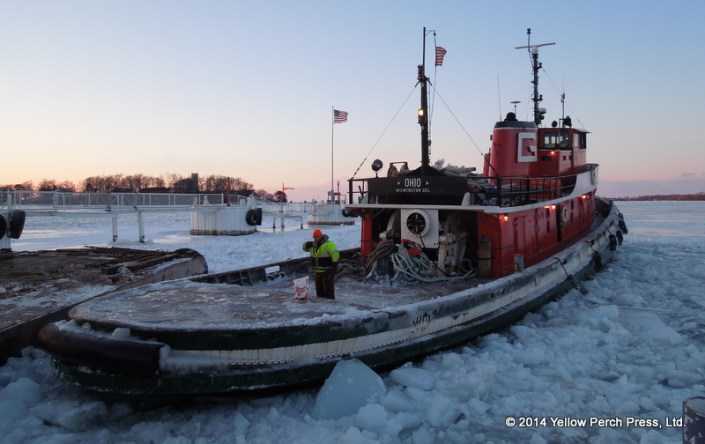 "Tug ""Ohio"" Put in Bay"