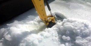 Miller Boat Line ice dig