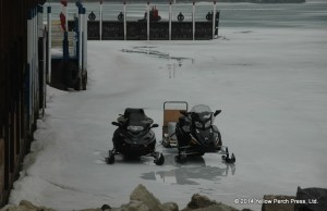 Put in Bay snowmobiles