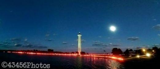 Put in Bay peace illumination