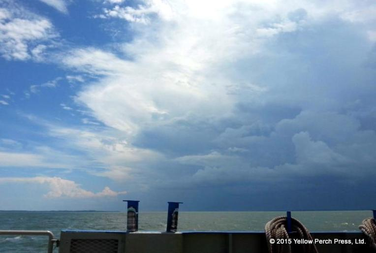 storm front Lake Erie