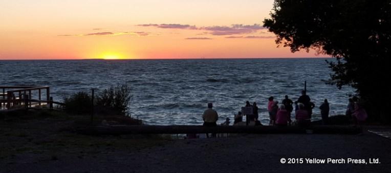 Sunset South Bass Island