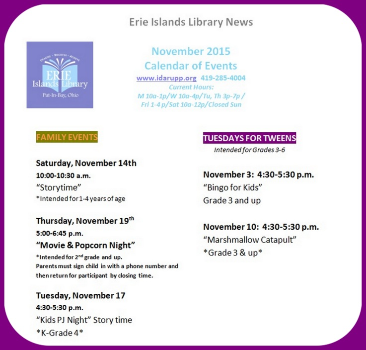 Erie Islands Library