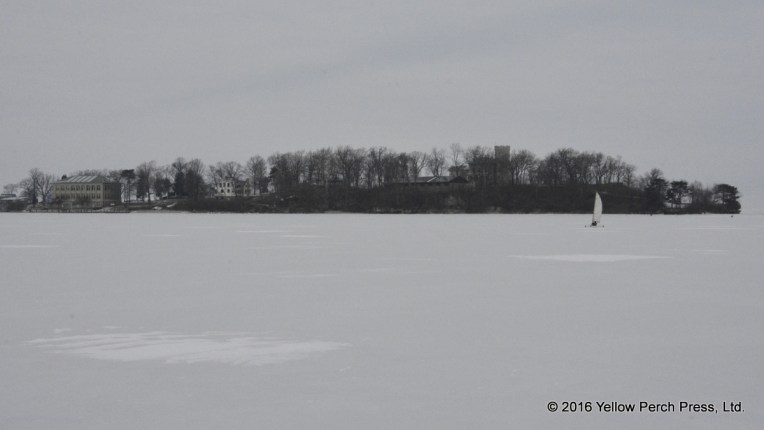 ice sailing Put in Bay