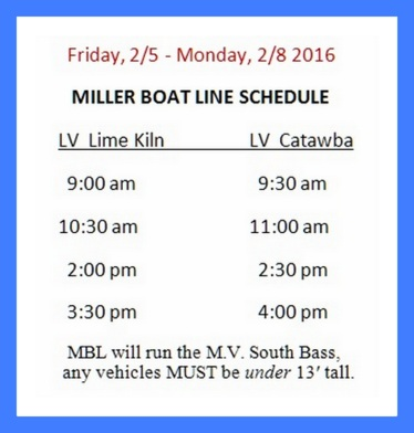 Miller Boat Line South Bass Island