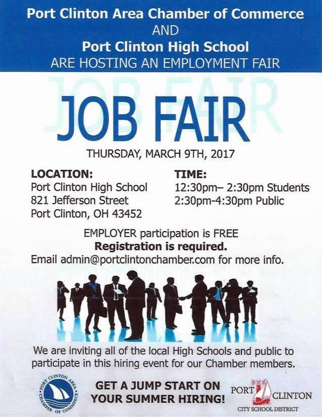 Port Clinton Job Fair