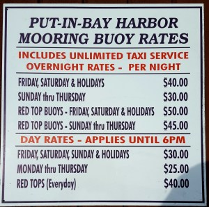 Put in Bay Moorings