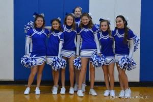 Put in Bay cheerleaders