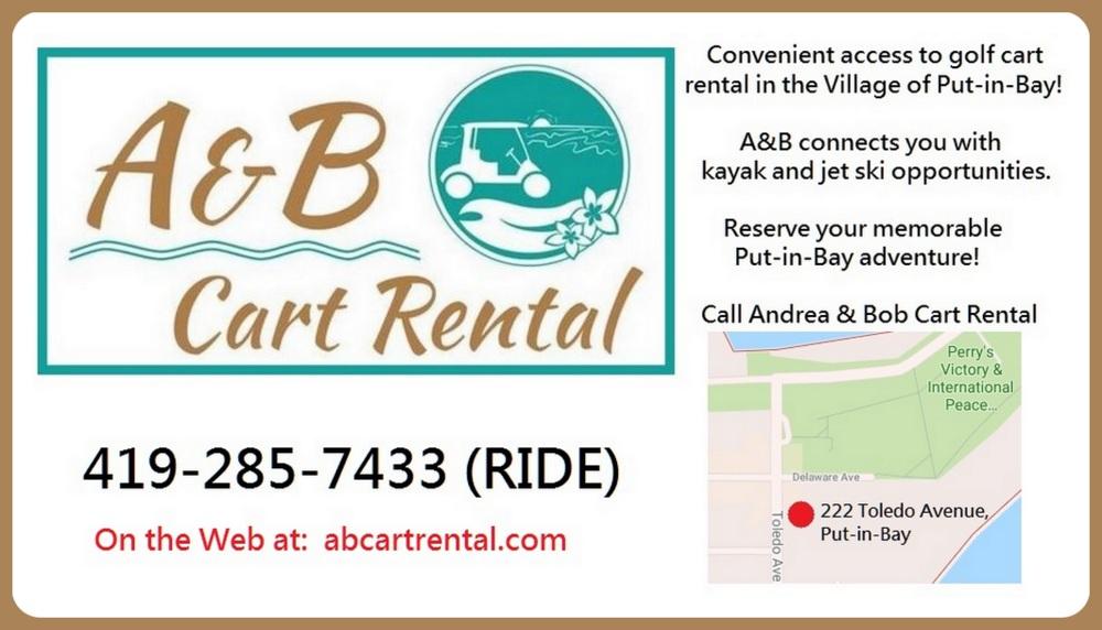 Put in Bay Cart Rental
