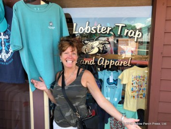shopping at Put in Bay
