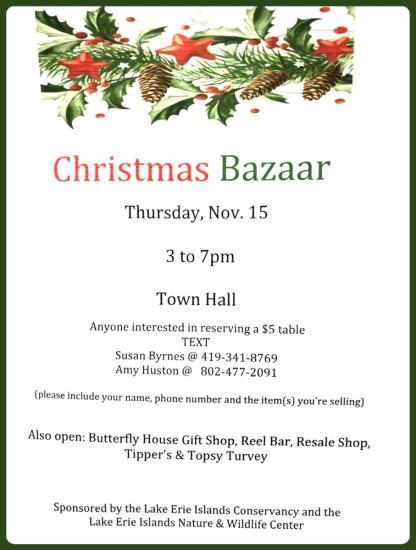 Put in Bay Christmas Bazaar