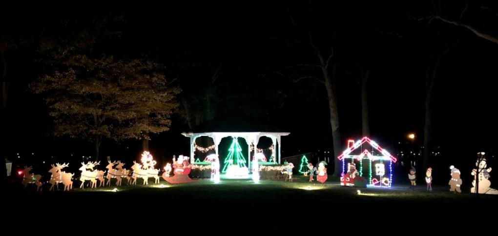 DeRivera Park Holiday Lights