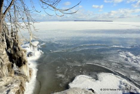 Kelleys Island ice