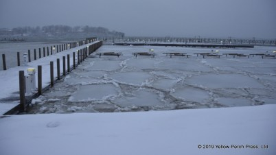 winter storm at Put in Bay