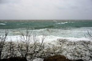 Lake Erie gale wind