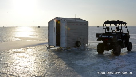 Lake Erie Ice Fishing