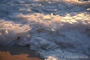 Put in Bay ice shove