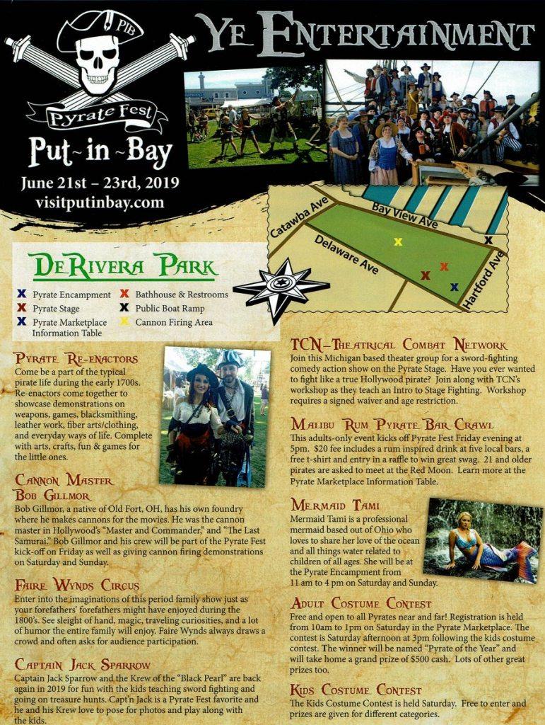 Put in Bay Pirate Fest