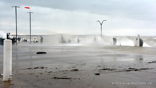 Lake Erie storm