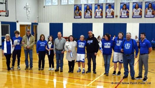 Panther Basketball Seniors