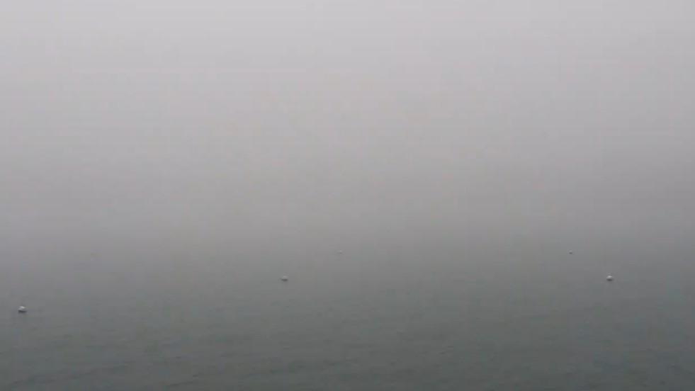 Put in Bay dense fog
