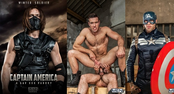 gay kapitán Amerika porno