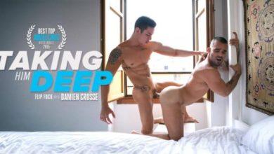 Photo of O melhor troca-troca porno gay entre Damien Cross & Angel Cruz