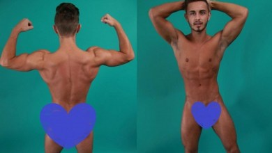 Photo of Connor Hunter do Ex on the Beach posa nu para Site Gay