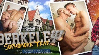 Photo of NakedSword – Berkeley: Sophomore Year – David Emblem & Dallas Steele