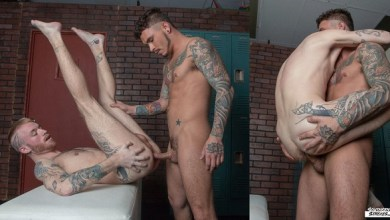 Photo of Checking Out The New Guy – Seth Knight e Declan Moore – Bareback