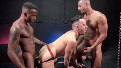 Photo of RawFuckClub – Alessio Gets DP'd – Alessio Vega, Phoenix Fellington & Zario Travezz