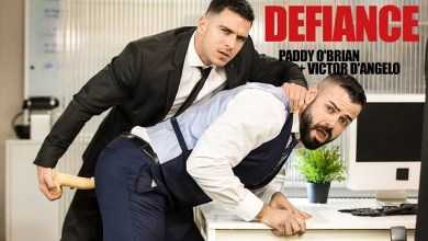 Photo of Defiance – Paddy O'Brian bangs Victor D'Angelo
