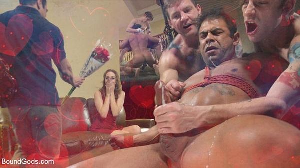 BoundGods - Valentine's Visitors - Colby Jansen, Draven Navarro & Sebastian Keys