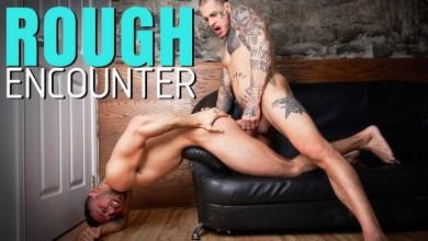 Photo of Rough Encounter – Bo Sinn Fucks Shane Jackson – Bareback