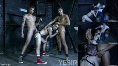 Photo of YeSirBoys – Double Trouble – Master Aaron, Alex Roman e Leo Bunny