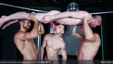 Photo of Masqulin – Fuckerbate Part 4 – Dante Colle, Jack Kross, Thyle Knoxx & Igor Romani