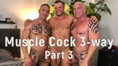 Photo of JustForFans – Wade Wolfgar, Ryan Carter & Digger – Part 3 – Bareback