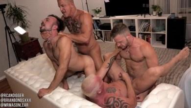 Photo of RawFuckClub – Brian Bonds, Mason Lear, Ryan Carter, Digger – Fuck-Quake Part 1 e 2