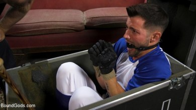 Photo of BoundGods – Extra Innings: Casey Everett Abducted and Fucked by Logan Stevens